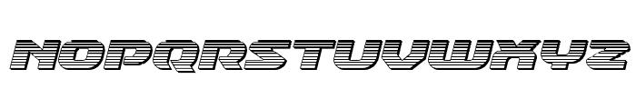 Annapolis Chrome Italic Font LOWERCASE