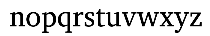 Annapurna SIL Font LOWERCASE