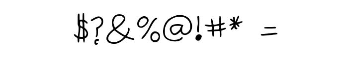 Anneke Medium Font OTHER CHARS