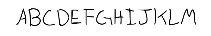 Anneke Medium Font UPPERCASE