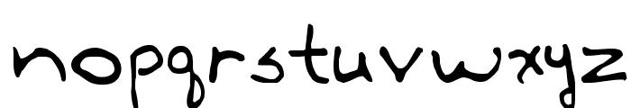 Annie Font LOWERCASE