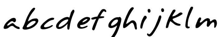 Annifont Font LOWERCASE