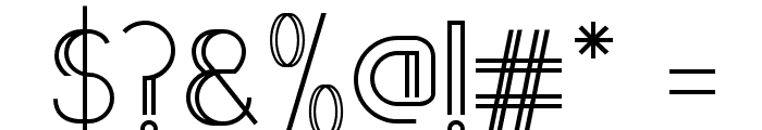 Annivers-Demo Font OTHER CHARS