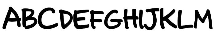 Annoying Kettle Font UPPERCASE