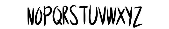 Anodyne Font UPPERCASE