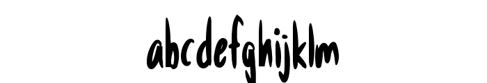 Anodyne Font LOWERCASE