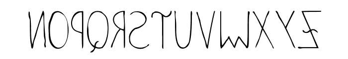 Anomalias Molestar Font UPPERCASE