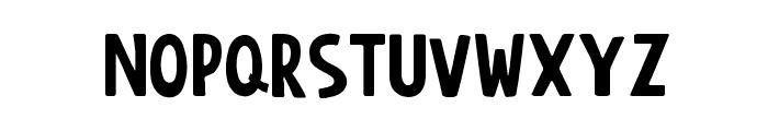 AnonimRound Font LOWERCASE