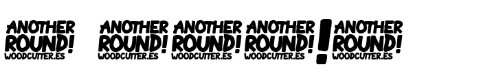 Another Round Font OTHER CHARS