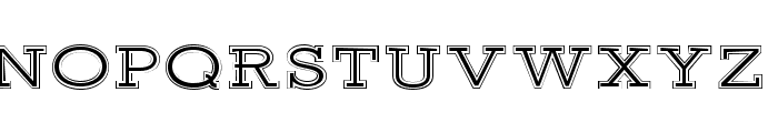 Ansley Display Font LOWERCASE
