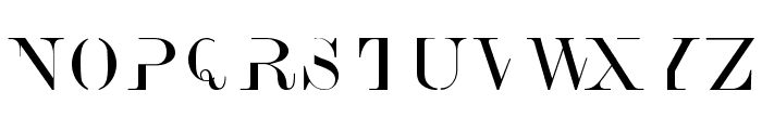 AnswerType Font UPPERCASE