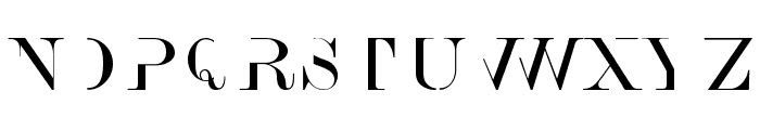 AnswerType Font LOWERCASE