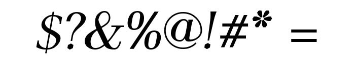 AntPolt-Italic Font OTHER CHARS