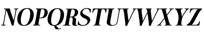AntPoltCond-BoldItalic Font UPPERCASE