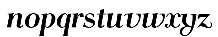 AntPoltCond-BoldItalic Font LOWERCASE