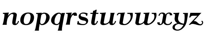 AntPoltExpd-BoldItalic Font LOWERCASE
