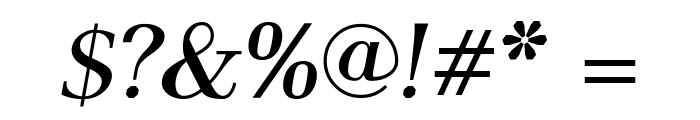 AntPoltLt-BoldItalic Font OTHER CHARS