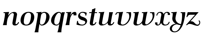 AntPoltLt-BoldItalic Font LOWERCASE