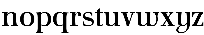 AntPoltLt-Bold Font LOWERCASE