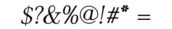 AntPoltLt-Italic Font OTHER CHARS