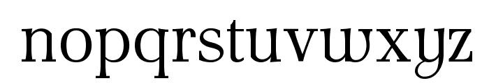 AntPoltLt-Regular Font LOWERCASE