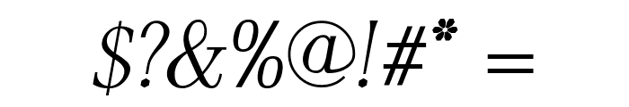AntPoltLtCond-Italic Font OTHER CHARS