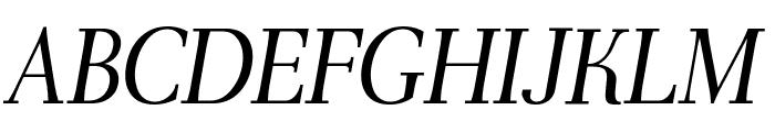 AntPoltLtCond-Italic Font UPPERCASE