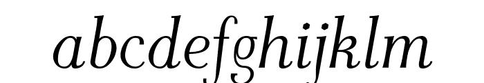 AntPoltLtCond-Italic Font LOWERCASE