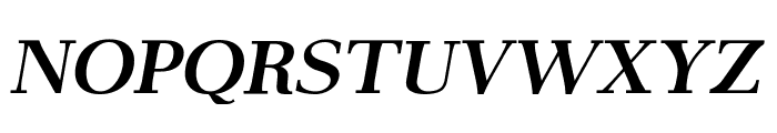 AntPoltLtExpd-BoldItalic Font UPPERCASE