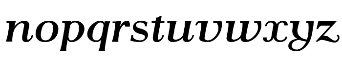 AntPoltLtExpd-BoldItalic Font LOWERCASE