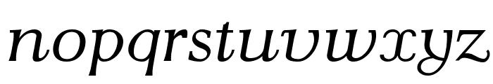 AntPoltLtExpd-Italic Font LOWERCASE