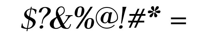 AntPoltLtSemiCond-BoldItalic Font OTHER CHARS