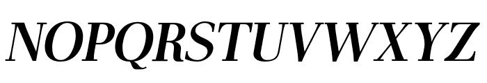AntPoltLtSemiCond-BoldItalic Font UPPERCASE