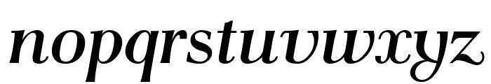 AntPoltLtSemiCond-BoldItalic Font LOWERCASE