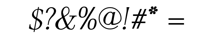 AntPoltLtSemiCond-Italic Font OTHER CHARS