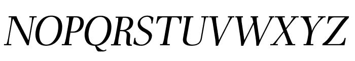 AntPoltLtSemiCond-Italic Font UPPERCASE