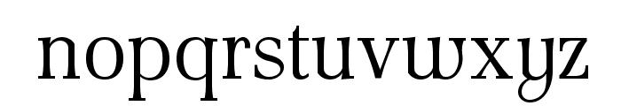AntPoltLtSemiCond-Regular Font LOWERCASE