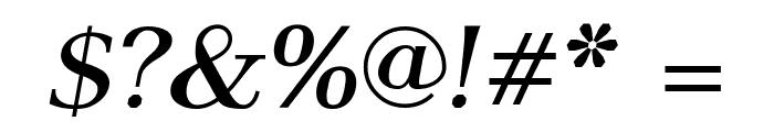 AntPoltLtSemiExpd-BoldItalic Font OTHER CHARS