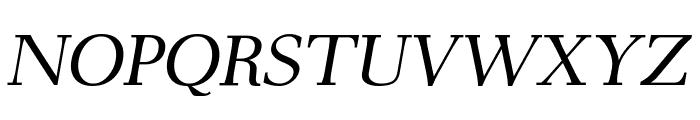 AntPoltLtSemiExpd-Italic Font UPPERCASE