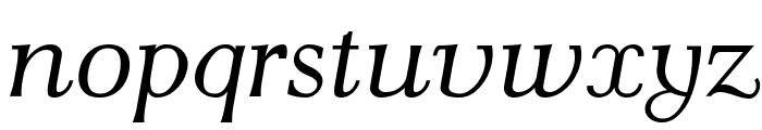 AntPoltLtSemiExpd-Italic Font LOWERCASE