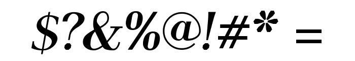 AntPoltSemiCond-BoldItalic Font OTHER CHARS