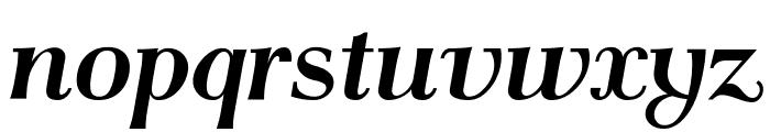 AntPoltSemiCond-BoldItalic Font LOWERCASE