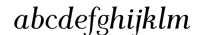 AntPoltSemiCond-Italic Font LOWERCASE
