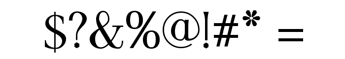 AntPoltSemiCond-Regular Font OTHER CHARS
