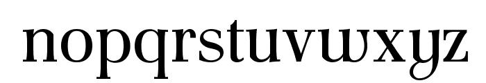 AntPoltSemiCond-Regular Font LOWERCASE