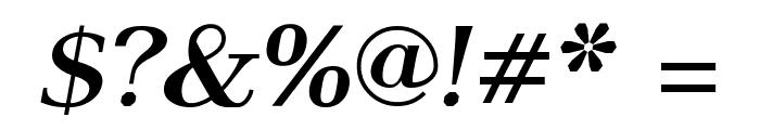 AntPoltSemiExpd-BoldItalic Font OTHER CHARS