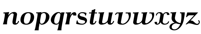 AntPoltSemiExpd-BoldItalic Font LOWERCASE