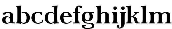 AntPoltSemiExpd-Bold Font LOWERCASE