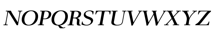 AntPoltSemiExpd-Italic Font UPPERCASE