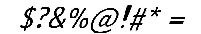 Antaviana BoldItalic Font OTHER CHARS